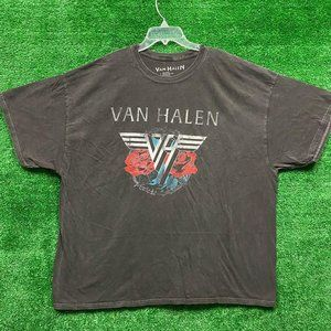 Van Halen 1984 Tour Rock Tee size L/XL